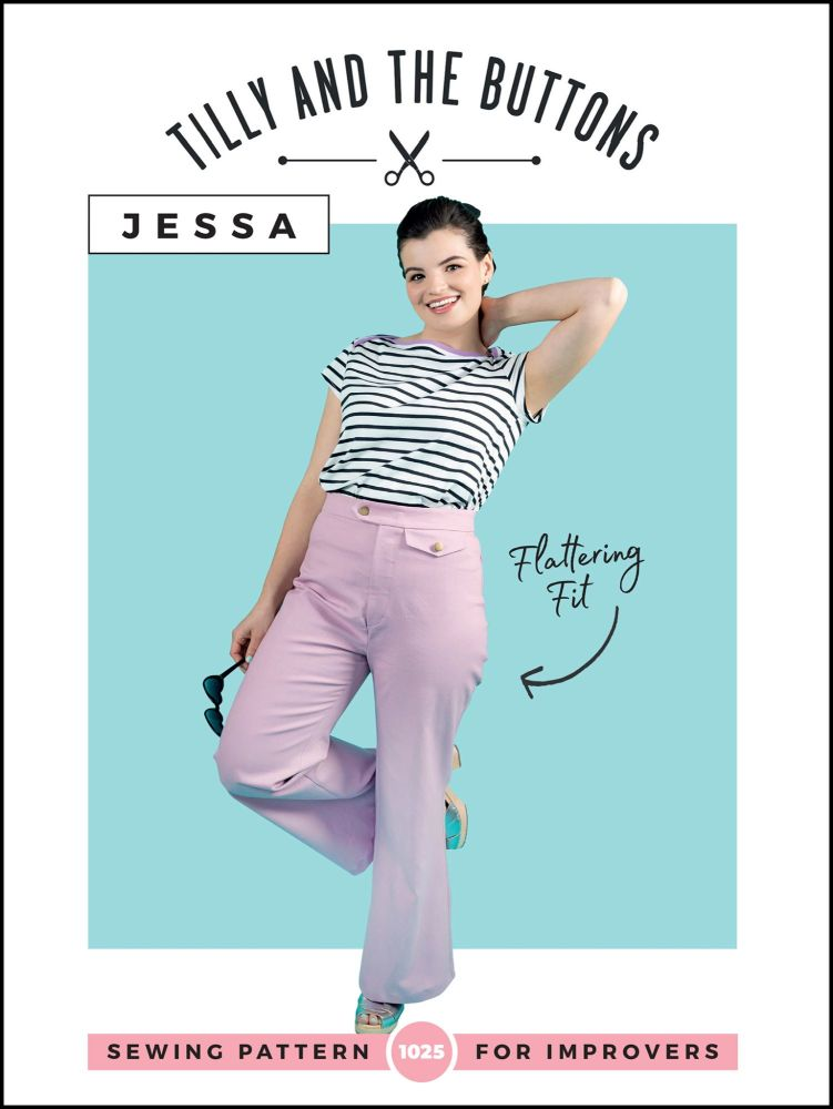 Tilly And The Buttons Jessa Trouser Pattern