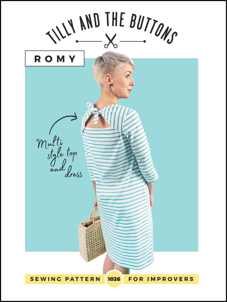 Tilly And The Buttons Romy Top & Dress Sewing Pattern