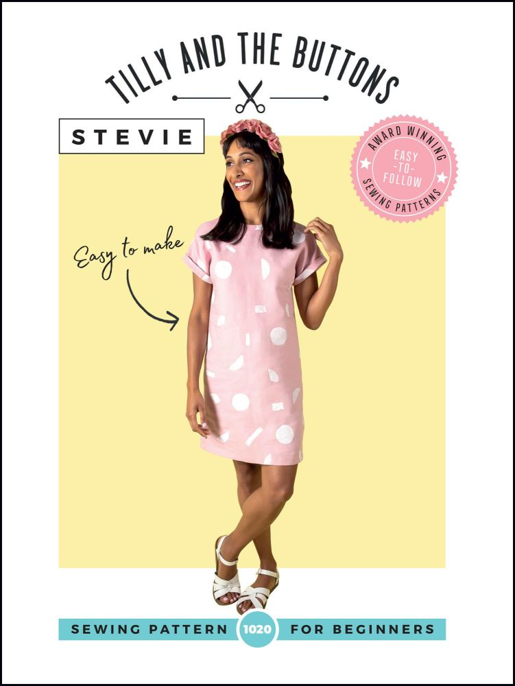 Tilly And The Buttons Sewing Pattern Stevie Tunic
