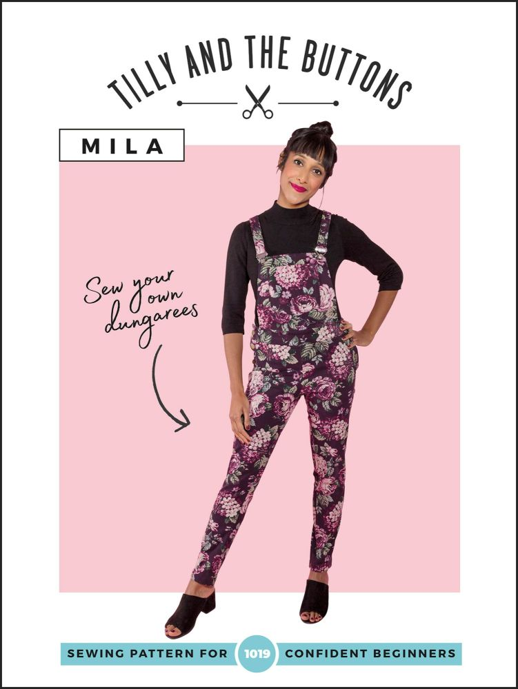 Tilly And The Buttons Sewing Patterns Mila Dungarees