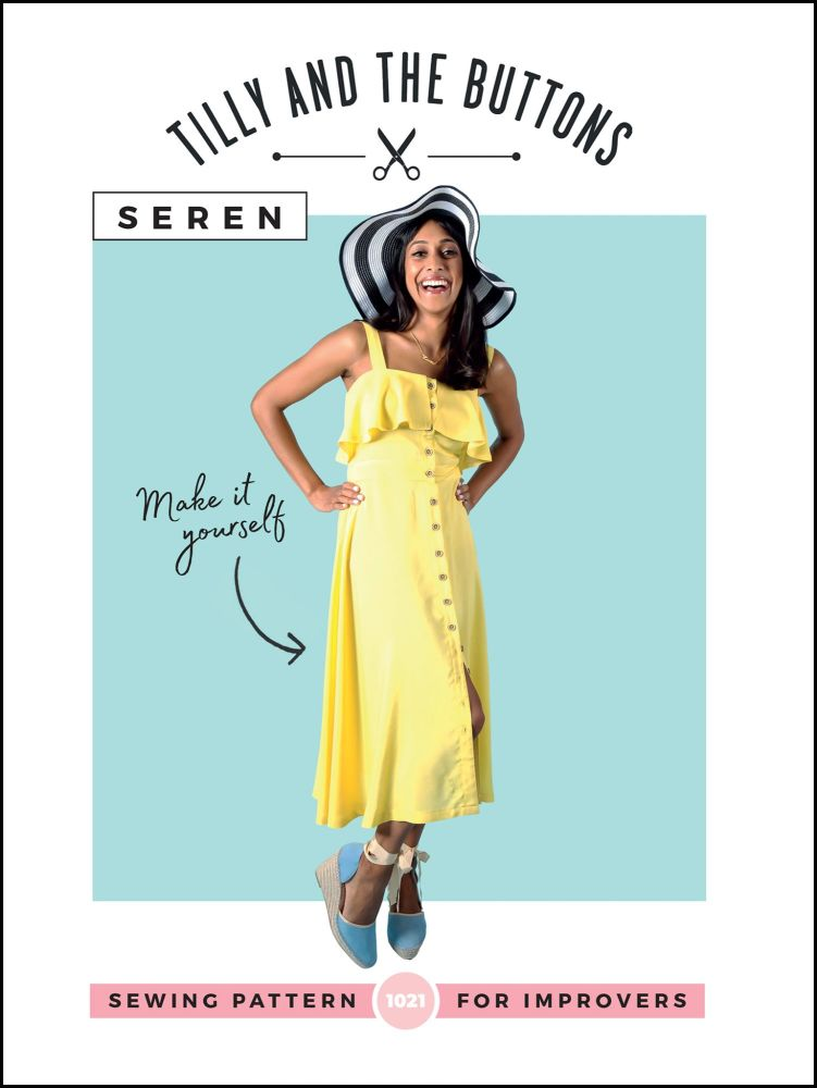 Tilly And The Buttons Sewing Patterns Seren Dress