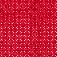 Makower Cotton Fabric Spot on Red