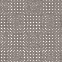 Makower Cotton Fabric Spot on  Steel Grey