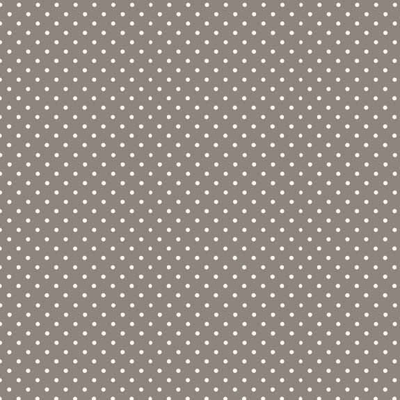 Makower Cotton Fabric Spot on  Steel Grey