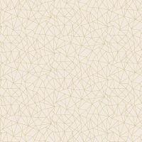 Makower Folk Friends Cotton Fabric Linework Cream