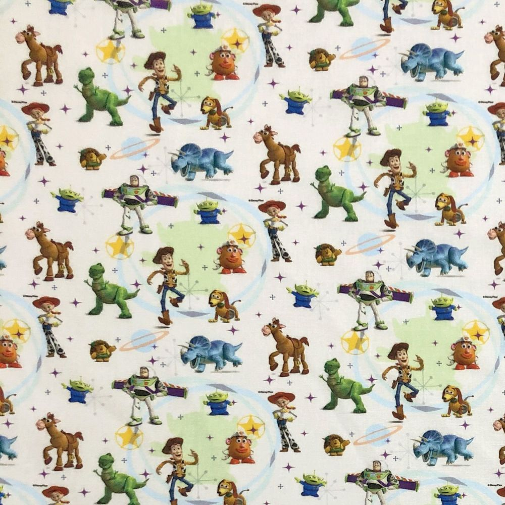 Disney Toy Story Cotton Fabric