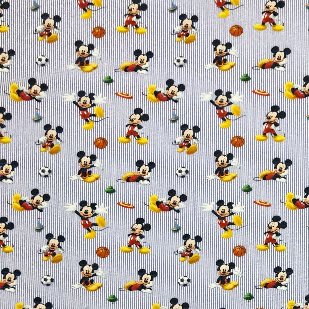 Disney Sporty Mickey Cotton Fabric