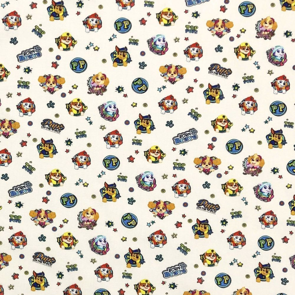 Disney Paw Patrol Cotton Fabric