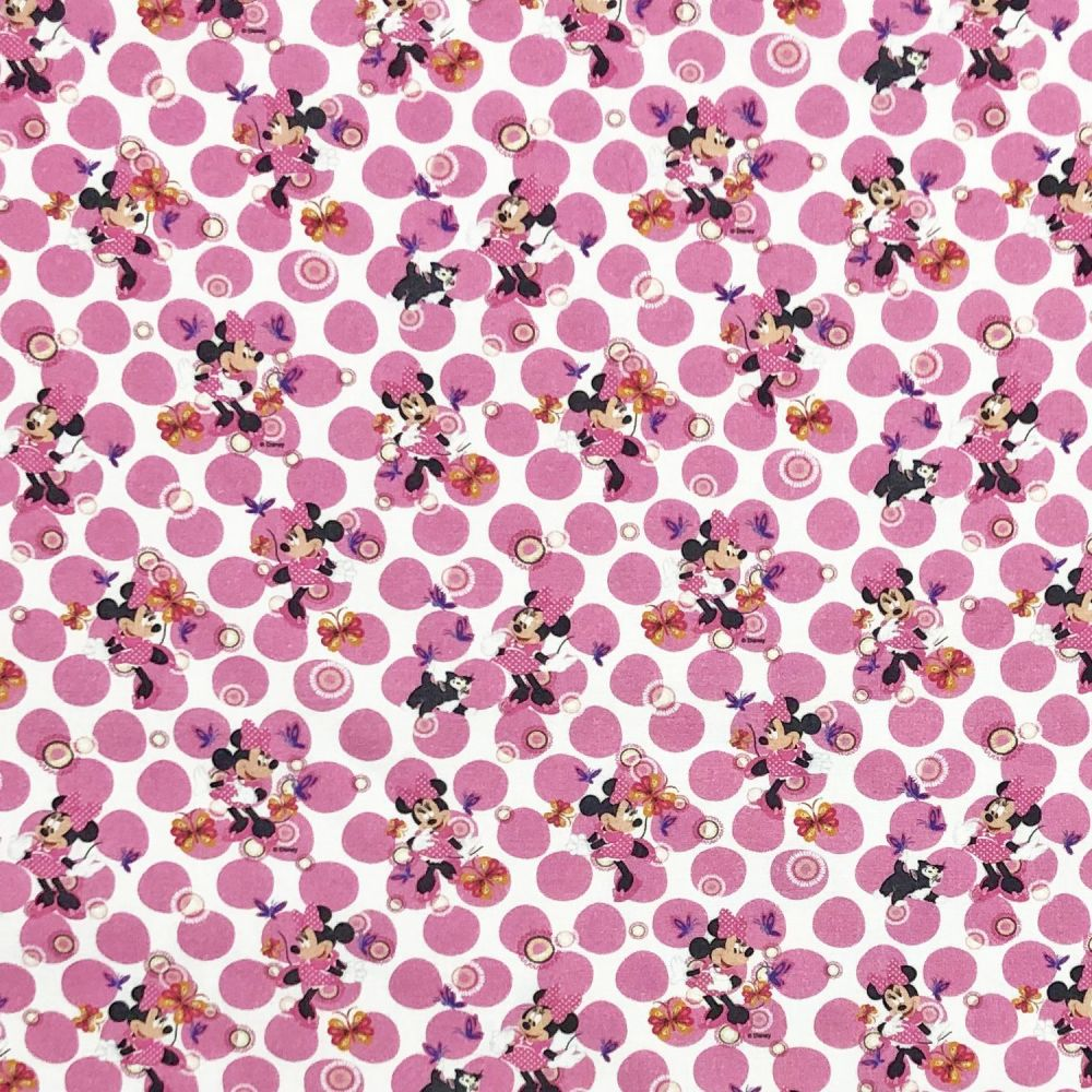 Disney Minnie Mouse Cotton Fabric