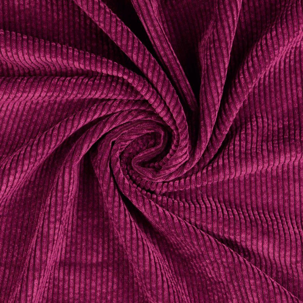 Soft Corduroy Stretch Fabric Purple