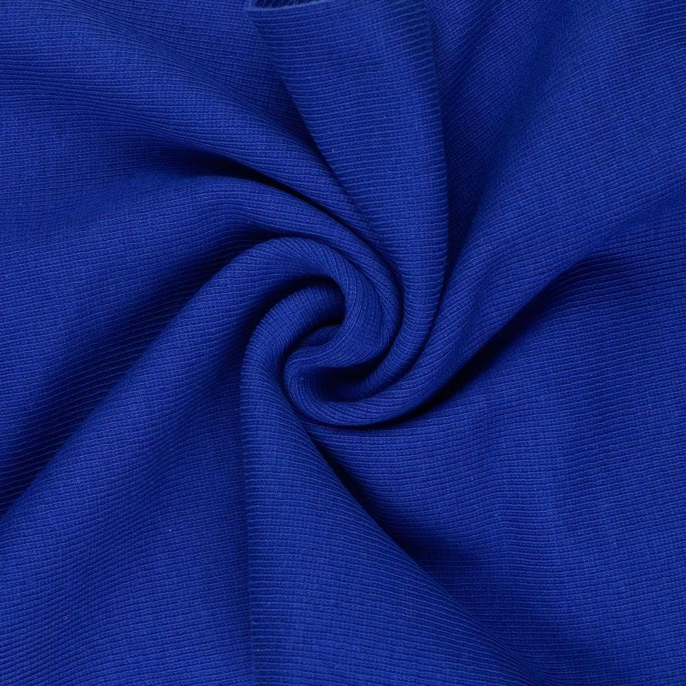 Tubular Ribbing Fabric Royal Blue