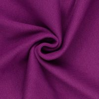 Tubular Ribbing Fabric Deep Fuchsia