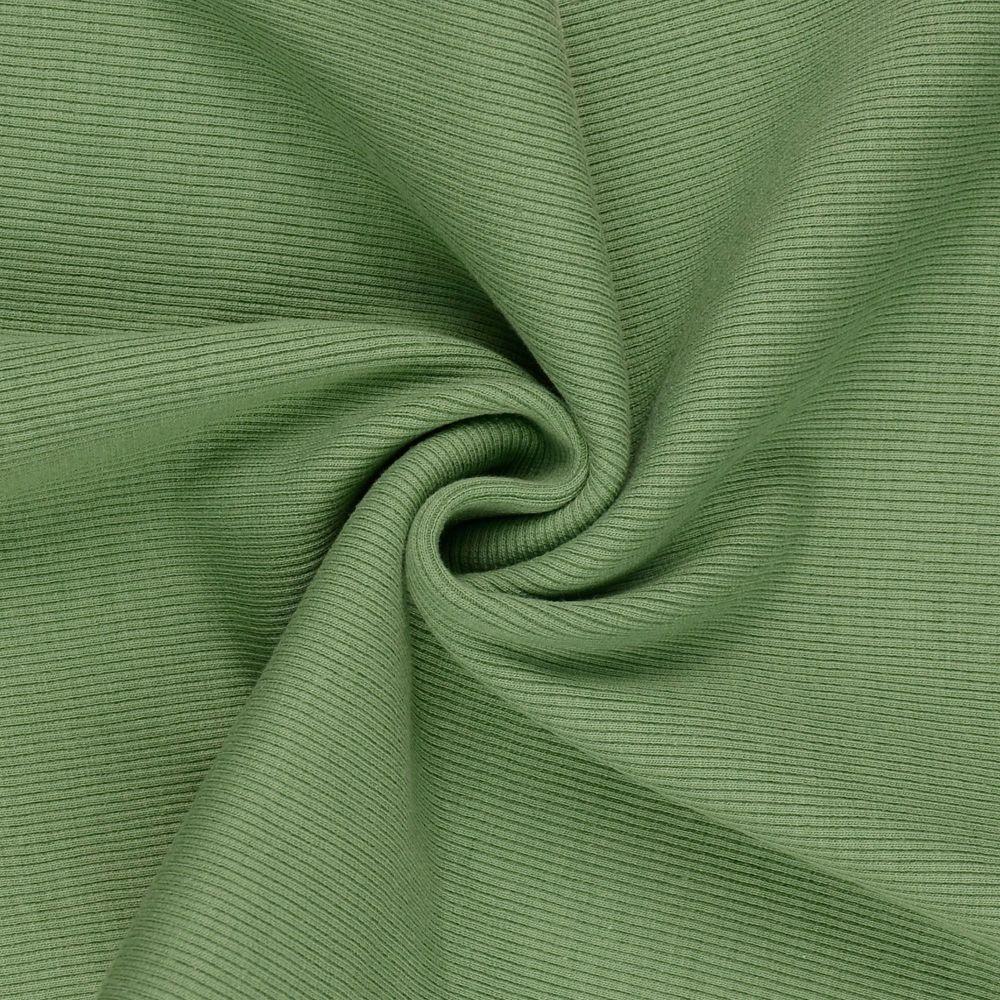 Tubular Ribbing Fabric Pale Sage