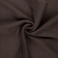 Tubular Ribbing Fabric Brown