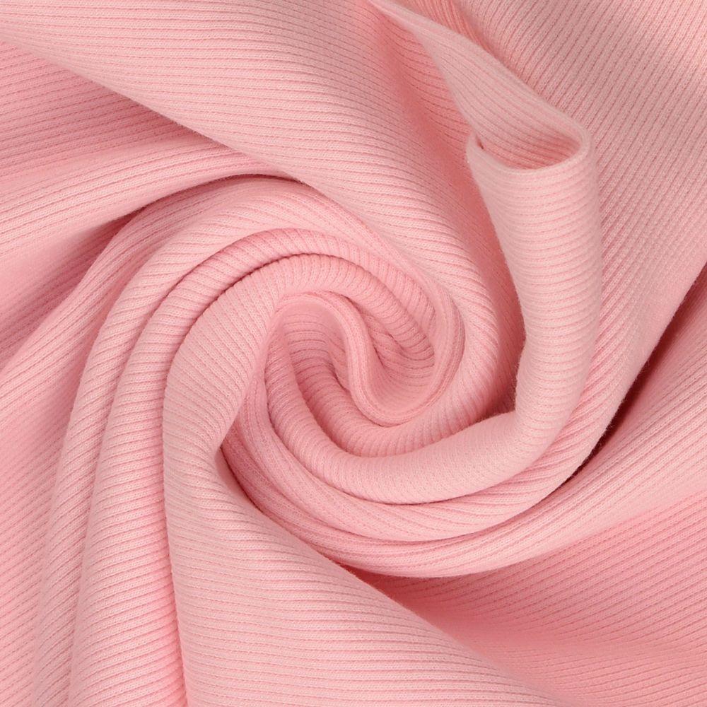 Tubular Ribbing Fabric Light Pink