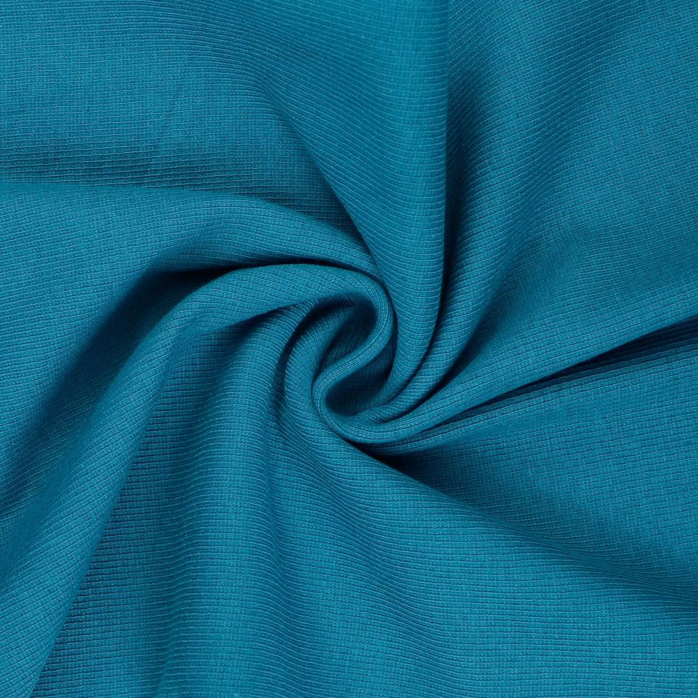 Tubular Ribbing Fabric Teal