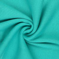 Tubular Ribbing Sea Green