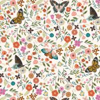 Dashwood Studio Aviary Butterflies White