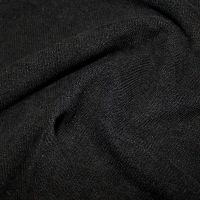 Soft Corduroy Fabric Black