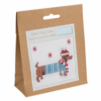 Stitch Your Own Dachshund Cross Stitch