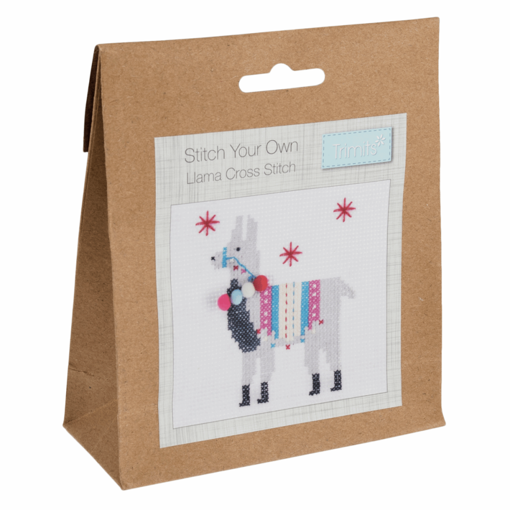 Stitch Your Own Llama Cross Stitch