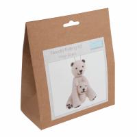 Needle Felting Kit Polar Bears