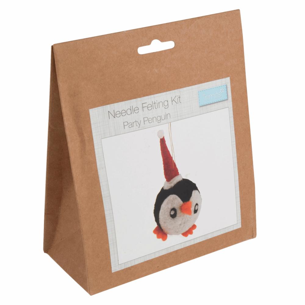Needle Felting Kit Penguin