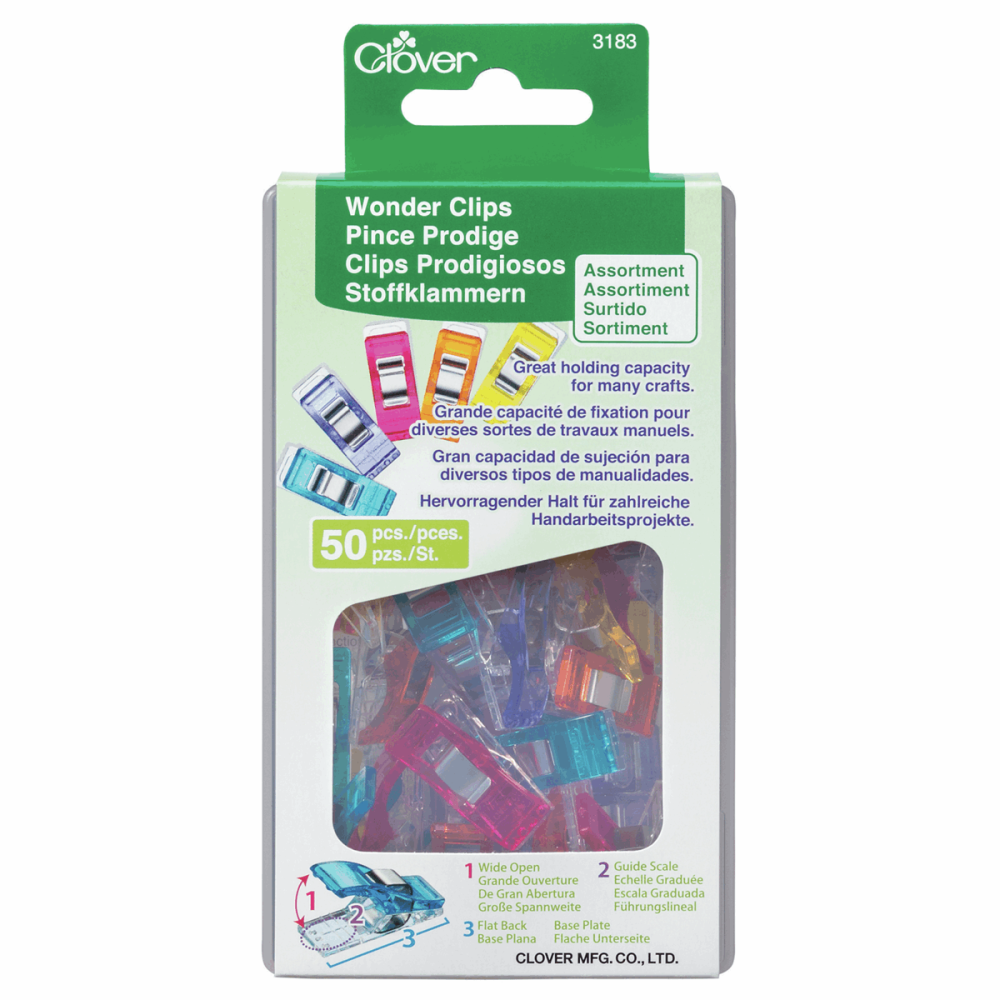 Clover Wonder Clips 50 Pcs