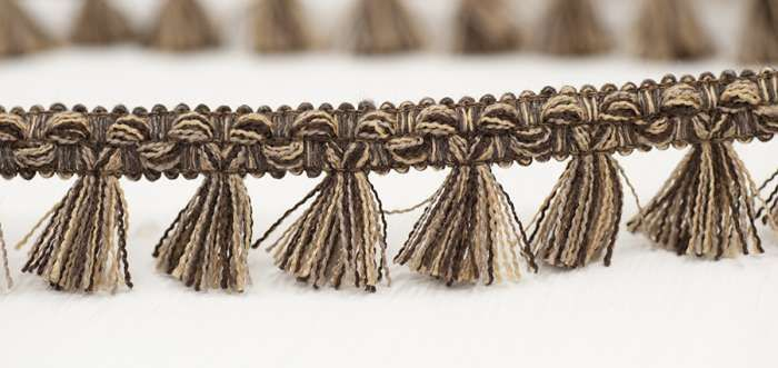 Filigree Tassel Fringe 30mm Earth