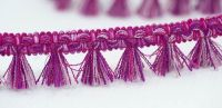 Filigree Tassel Fringe 30mm Pink