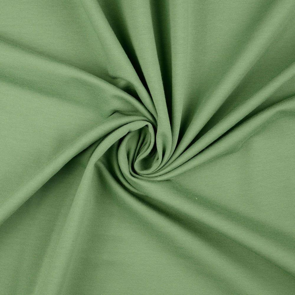 French Terry Plain Fabric Khaki