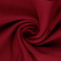 Tubular Ribbing Fabric Wine