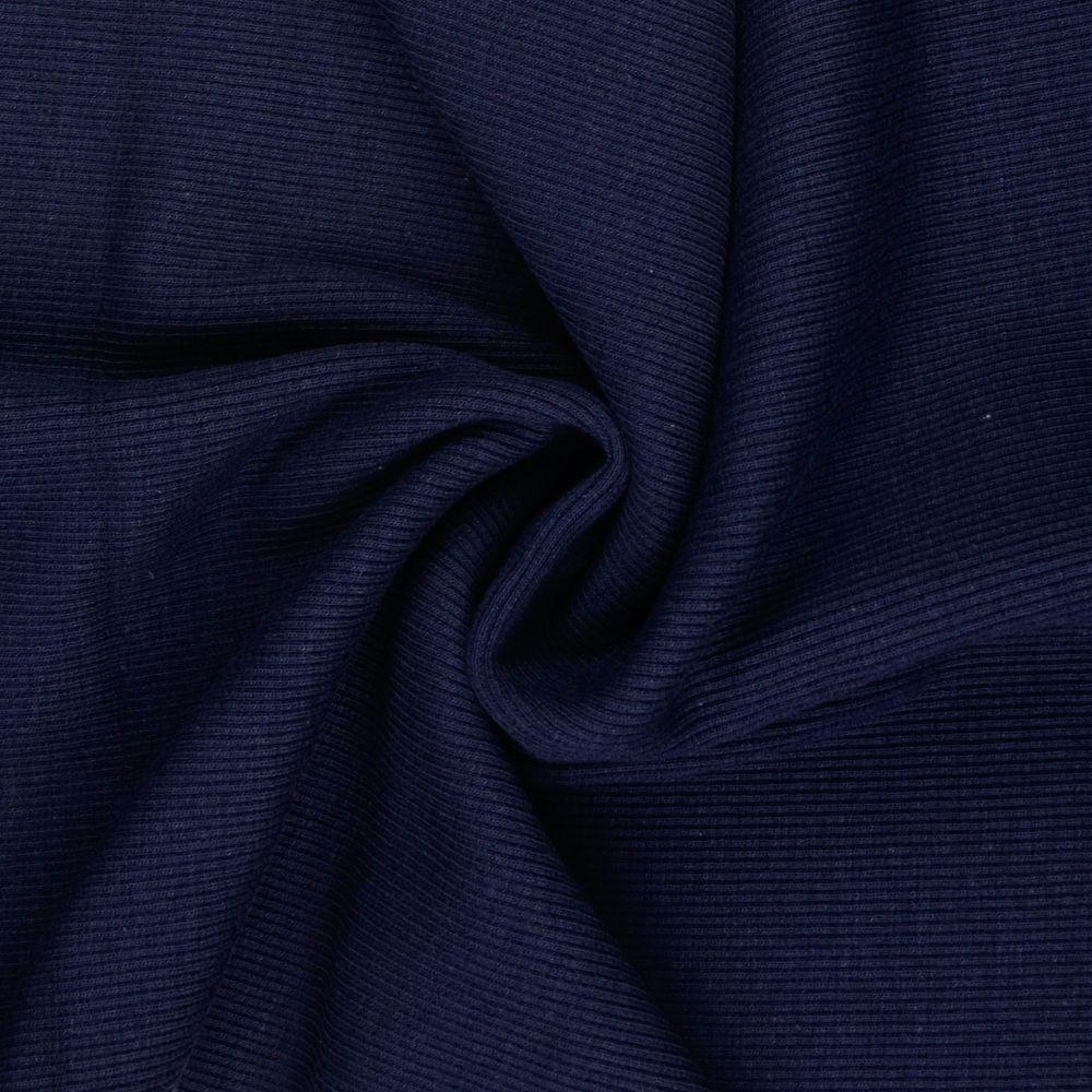 Tubular Ribbing Fabric Navy