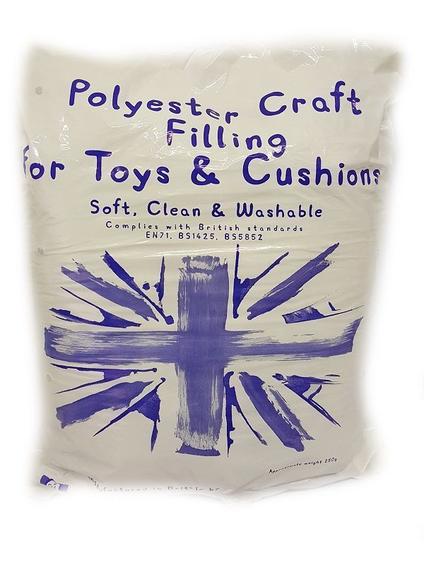 Polyester Toy Stuffing 250g