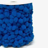 Pom-Pom Trim 15mm Blue