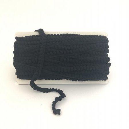 Mini Pom-Poms Black