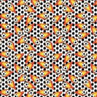 Cotton Fabric Football Blast