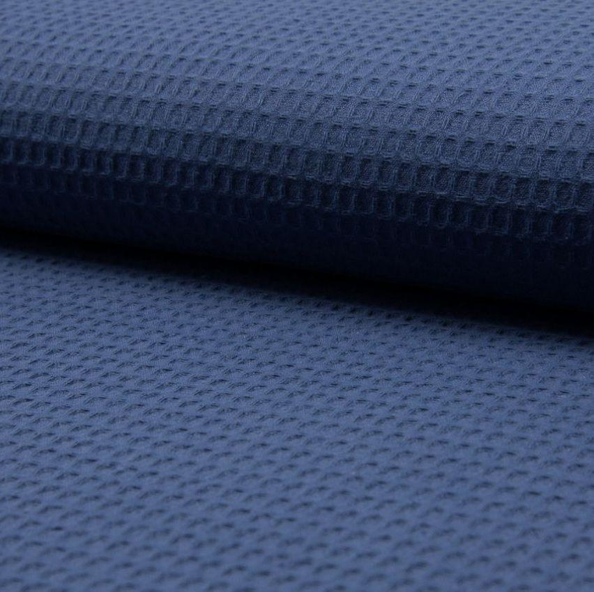 Waffel Fabric Navy