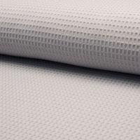 Waffel Fabric Silver Grey