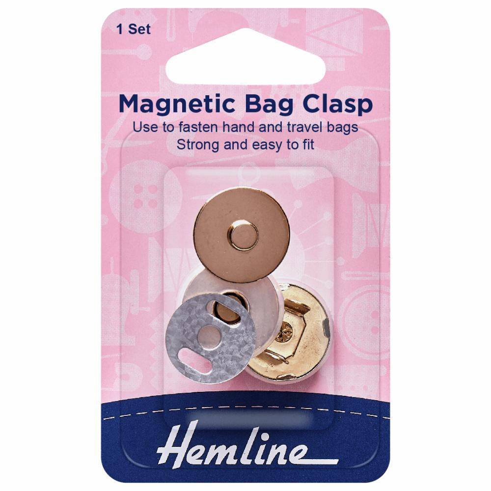 Hemline Magnetic Bag Clasp