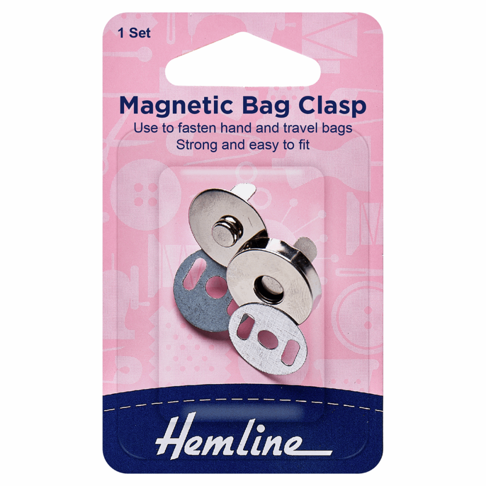 Hemline Magnetic Bag Clasp 19mm
