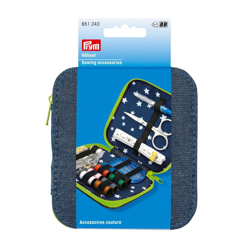 Prym Denim Sewing Kit Lime