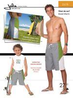 Jalie 2678 Board Shorts for Boys & Men