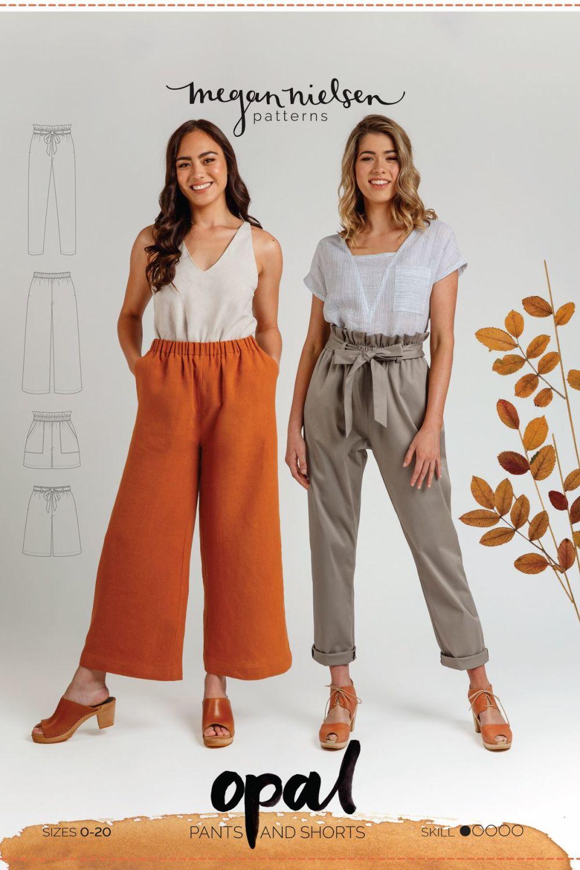 Megan Nielsen Opal Pants & Shorts Sewing Pattern