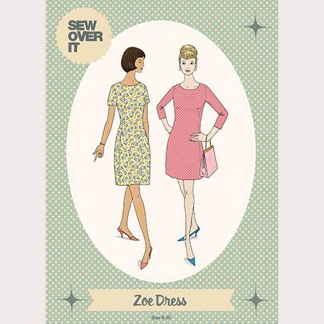 Sew Over It Zoe Dress Sewing Pattern