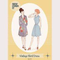 Sew Over It Vintage Skirt Dress Sewing Pattern