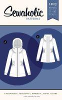 Sewaholic Sewing Pattern 1103 Minoru Jacket