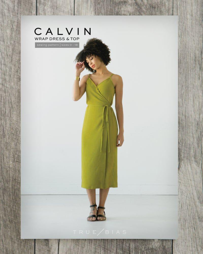 True Bias Calvin Wrap Dress & Top Sewing Pattern