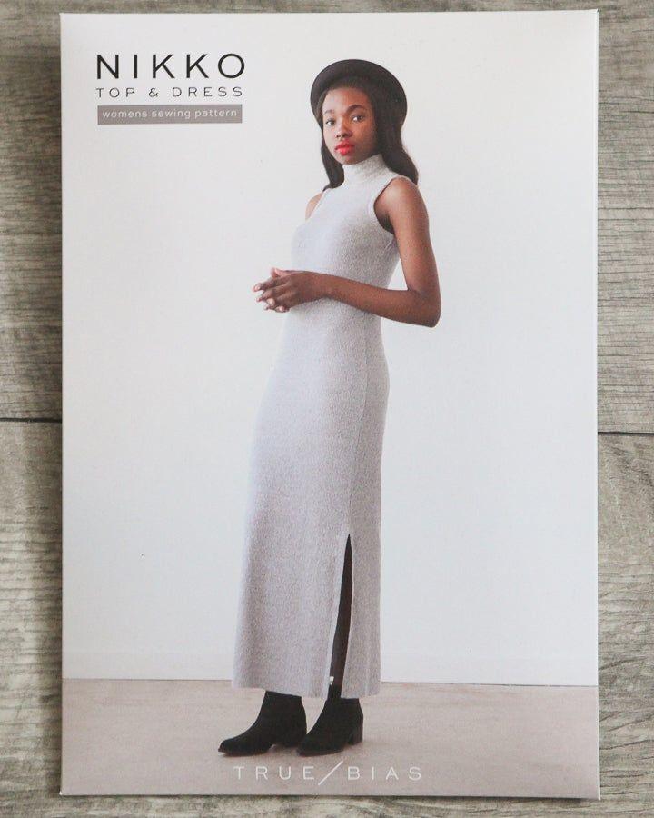 True Bias Nikko Top & Dress Sewing Pattern