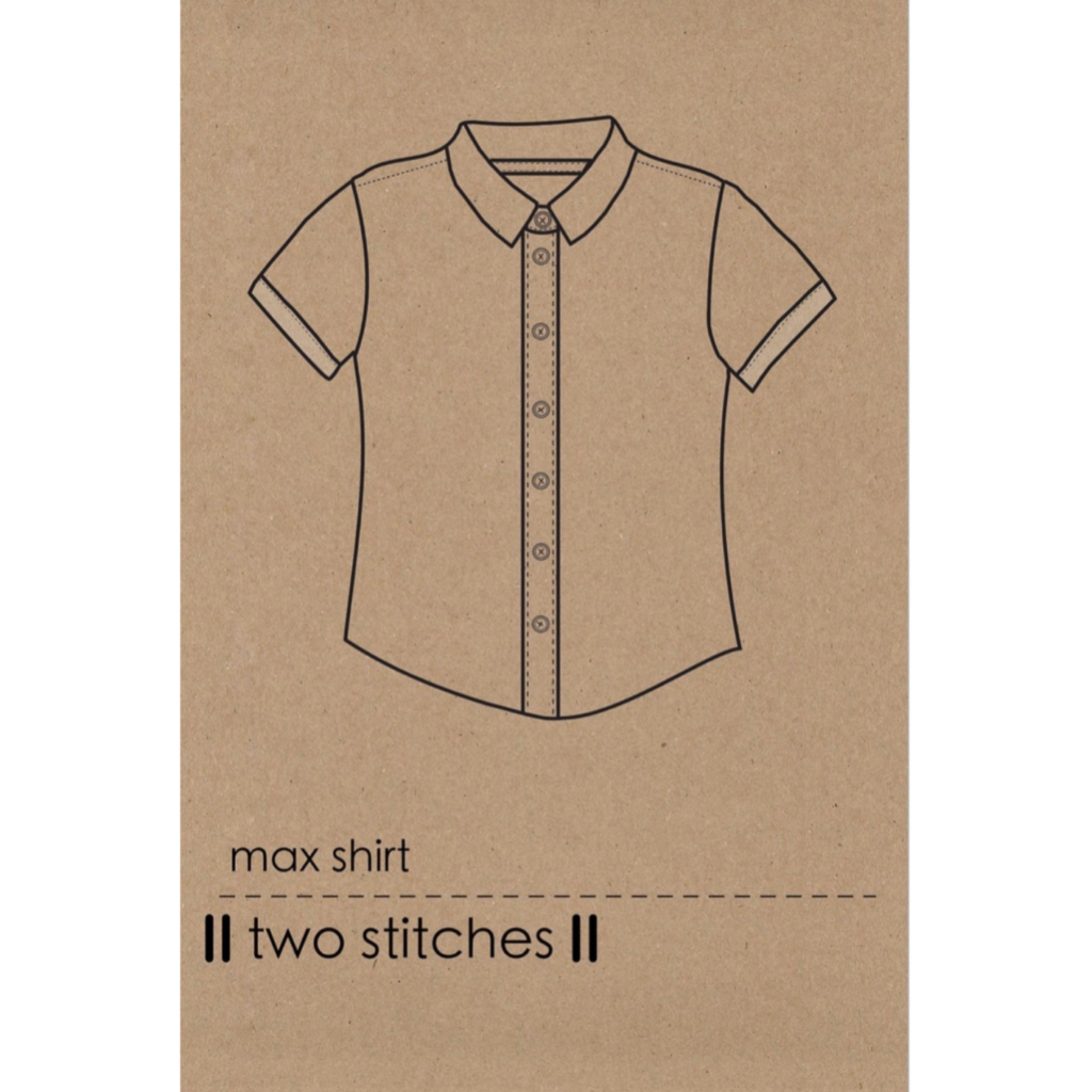 Two Stitches Sewing Pattern Max Shirt